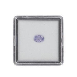 0.30cts Tanzanite Brilliant Oval Approx 6x4mm Loose Gemstone (1pc)