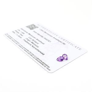 Moroccan Amethyst Gemstone Pieces  1.28cts