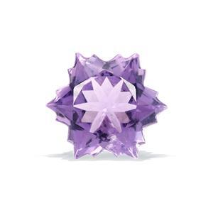 1.8cts  Amethyst 8x8mm Snowflake  (H)