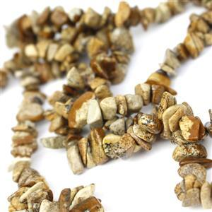 300cts Picture Jasper Small Nuggets, Approx 4x5-6x14mm, 84cm