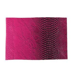 Synthetic-Leather Fuchsia Gloss 7x10.5in