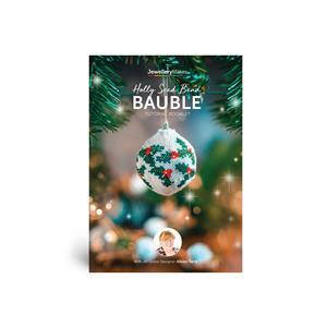 Holly Seed Bead Bauble Booklet with Alison Tarry