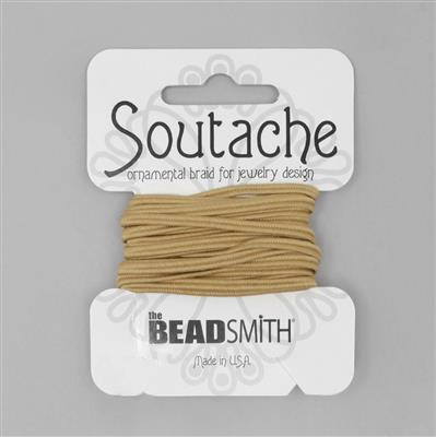 Beige Soutache Cord 3yards 3mm