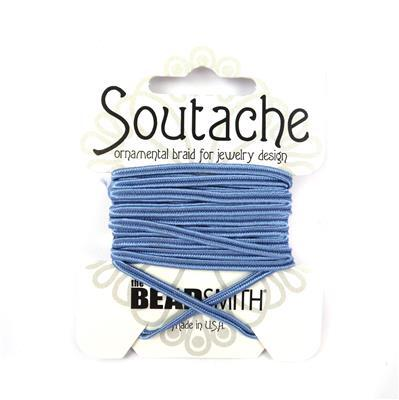 Blue Soutache Cord 3yards 3mm