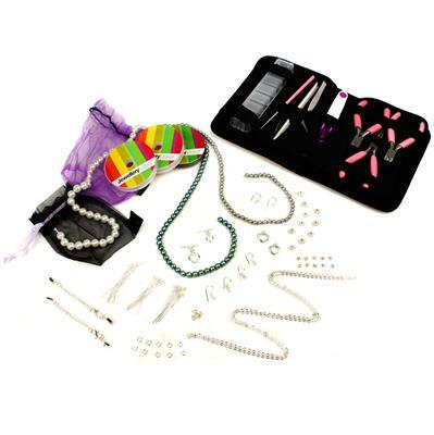 Shell Pearl Beginners Jewellery Kit