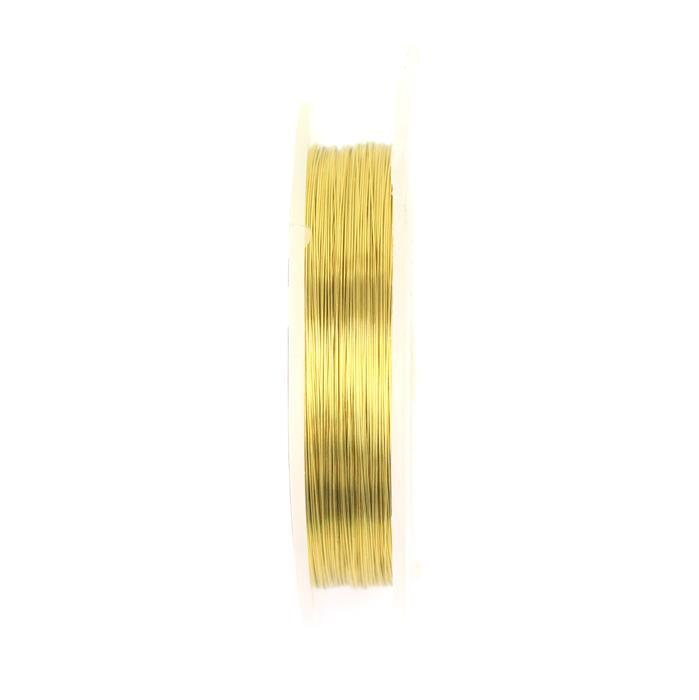 100m Brass Wire 0.40mm