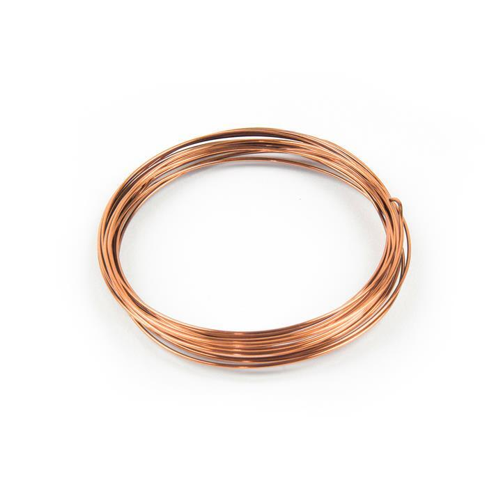 Copper Round Wire - 0.8mm (6m)