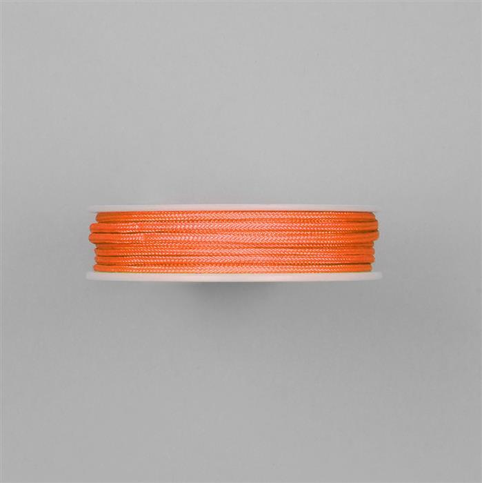 3m Neon Deep Orange Knotting Cord Approx 2mm