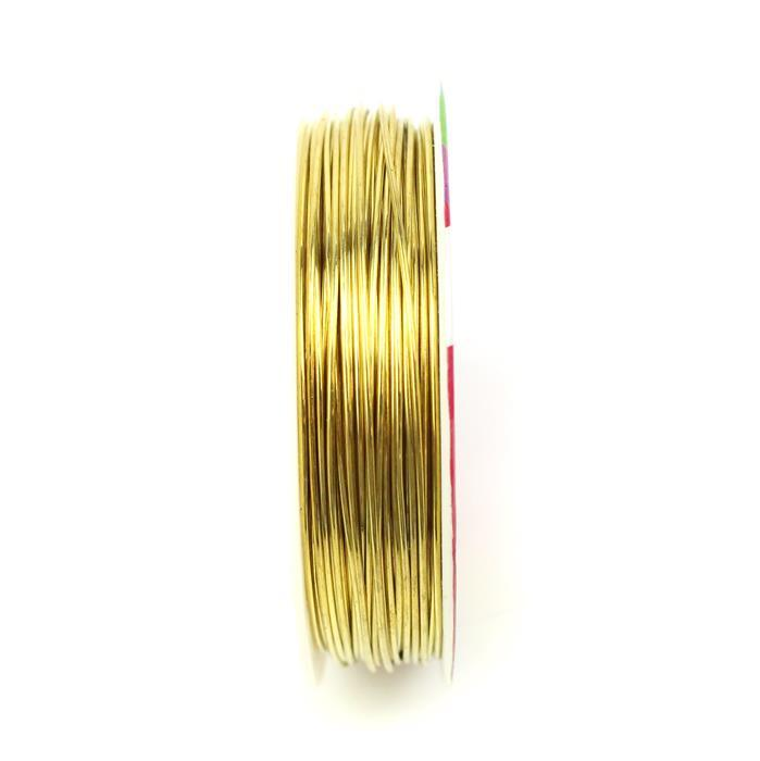 10m Gold Plated Copper Wire 0.8mm