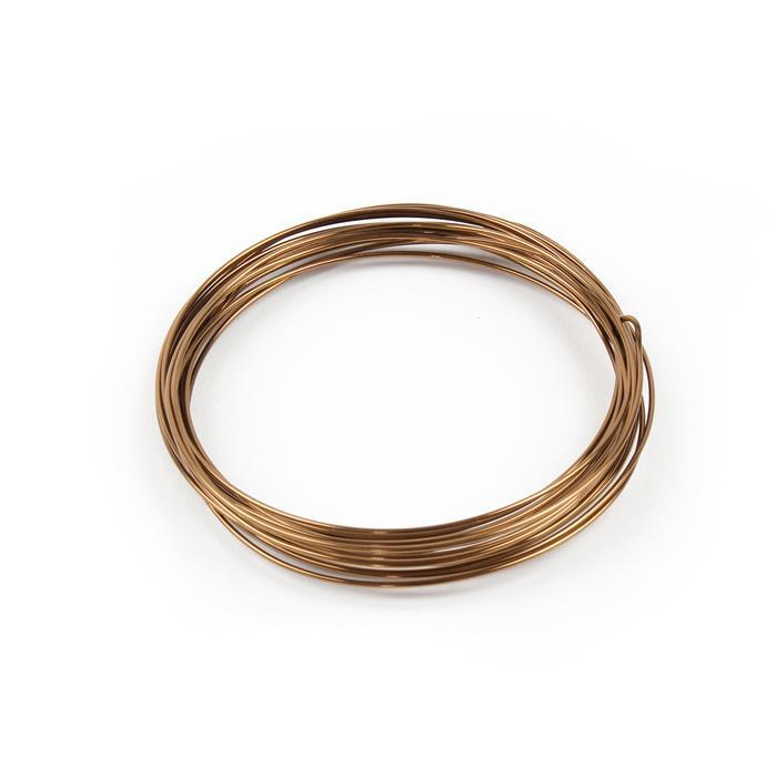 Antique Bronze Copper Wire - 1.2mm (3m)