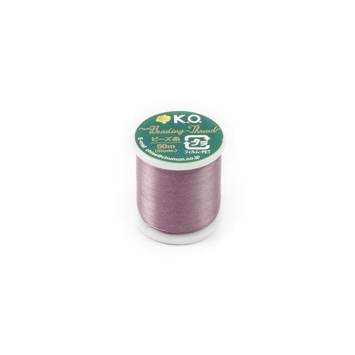 KO Beading Thread Lilac Approx 50m