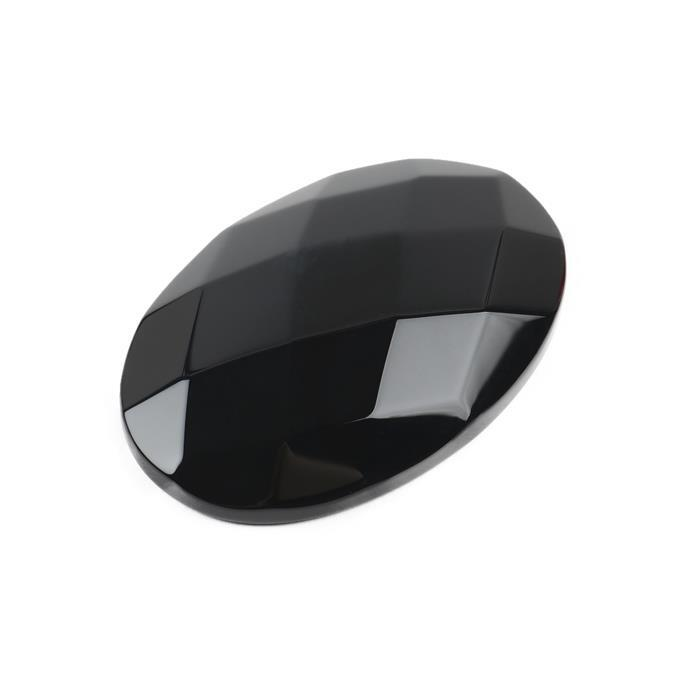 170cts Black Agate Faceted Oval Cabochon Approx 40x60mm