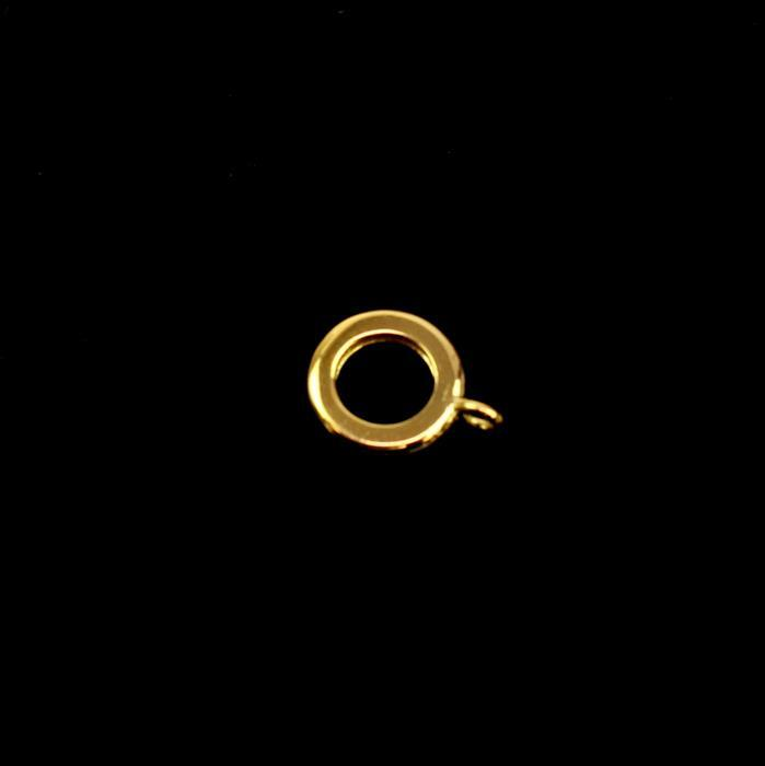 Gold Plated 925 Sterling Silver Charm Bail - 10mm (1pc)