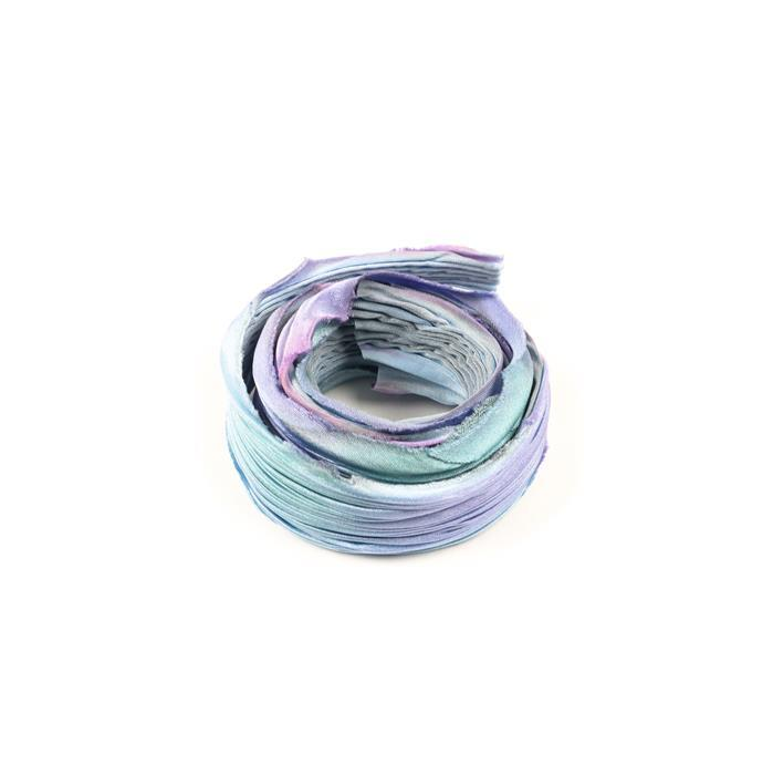 Lullaby Shibori Silk Ribbon - 1/2 Yard