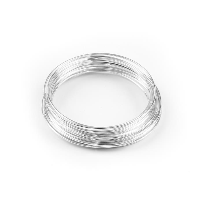 Silver Plated Copper Wire - 1.5mm (1.5m)
