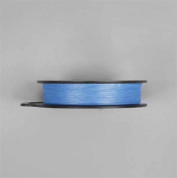 Blue Wildfire Thermally Bonding Bead Weaving Thread, .006 in, 50 yd, 0.15mm and 45.7m